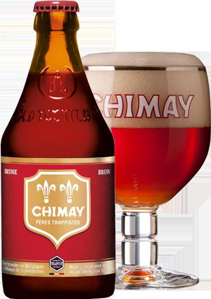Chimay rouge pohár hátul copy