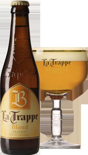 La Trappe Blond pohár hátul KÖRBE copy