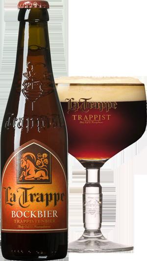 La Trappe Bock pohár hátul KÖRBE copy