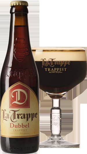 La Trappe Dubbel pohár hátul KÖRBE copy
