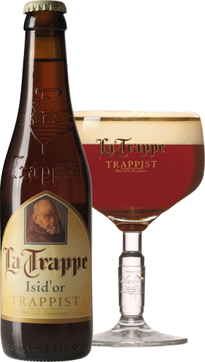 La Trappe Isidor pohár hátul KÖRBE copy