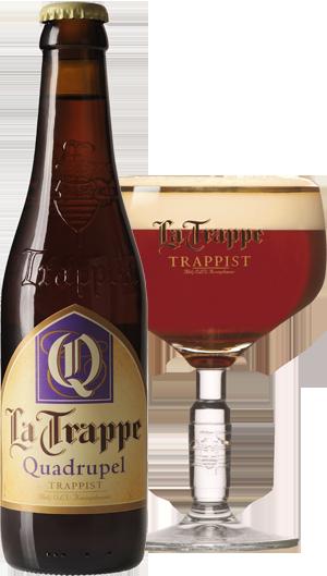 La Trappe Quad pohár hátul KÖRBE copy