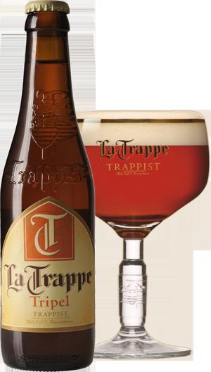 La Trappe Tripel pohár hátul KÖRBE copy
