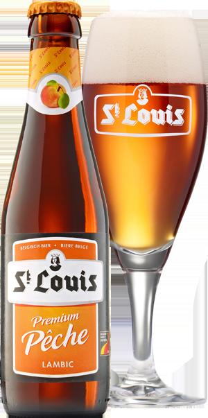 St Louis Peche pohár hátul KÖRBE copy
