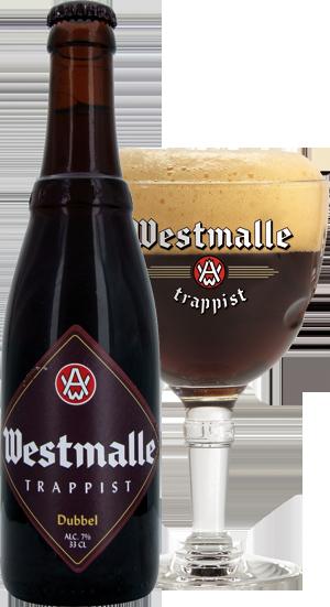 Westmalle dubbel pohár hátul körbevágva copy